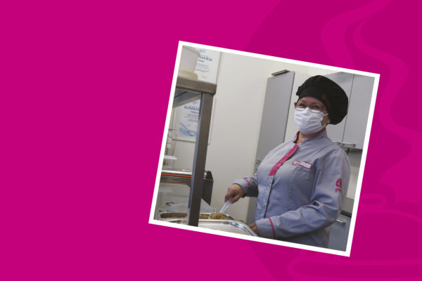 Monipuolisen keittiöalan kokemuksen omaava Heidi innostui tuotekehittäjän työstä -artikkelikuva