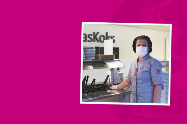 Vastaava ravitsemistyöntekijä Nina on työskennellyt erilaisissa työtehtävissä ja toimipisteissä -artikkelikuva